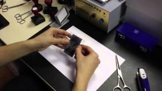 видео Оборудование для ФЛЕШ печатей