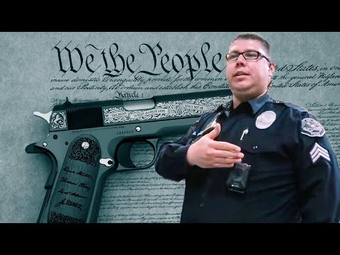 California 2nd Amend Explained Right From Horse's Mouth? Photographer & Desert Hot Springs Police thumbnail