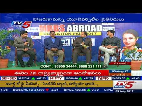 MBBS in aborad -education fair by vision educational consultancy&tv5 in Guntur