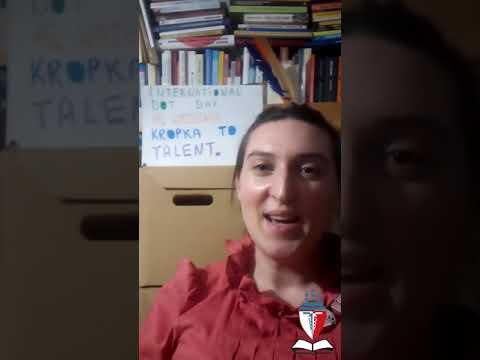 Ania pozdrawia nowych studentów WSHiU