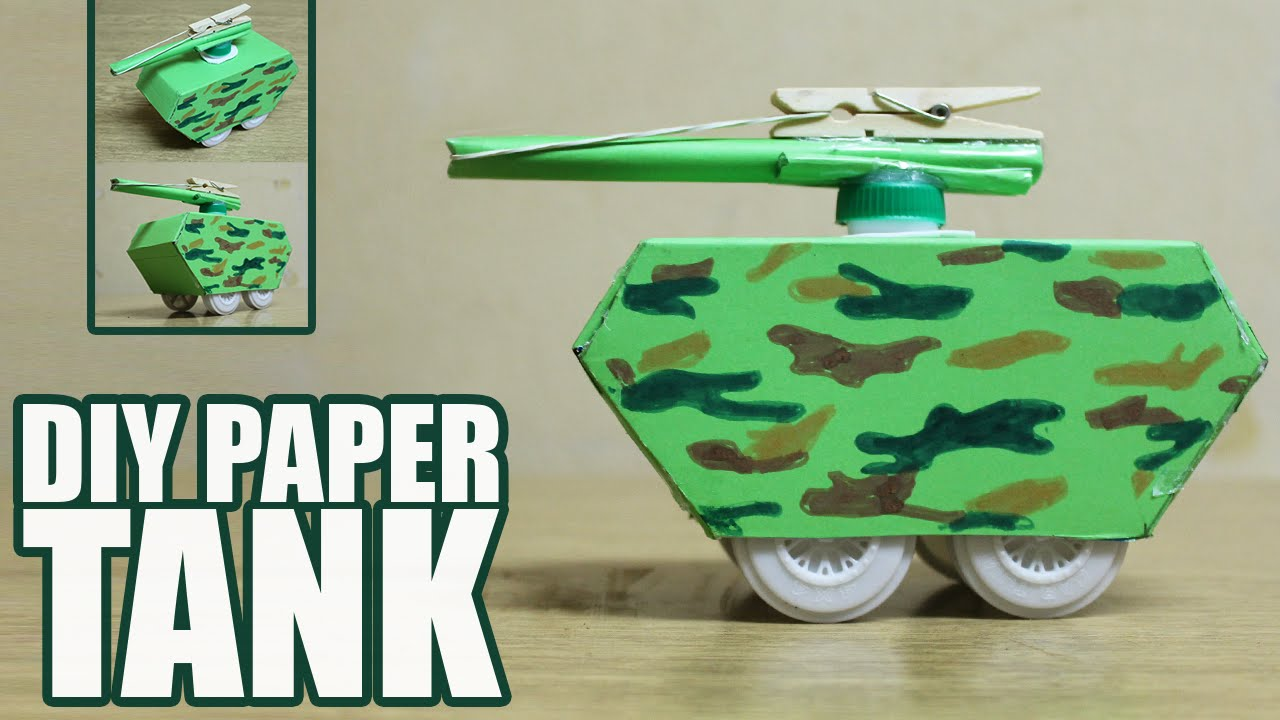 How to Make a Paper Tank How to Make a Paper Tank new photo
