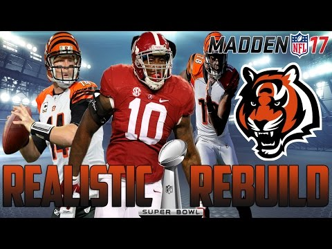 Madden 17 CFM | Realistic Rebuild: Cincinnati Bengals | MY FIRST 99 OVERALL PROSPECT!