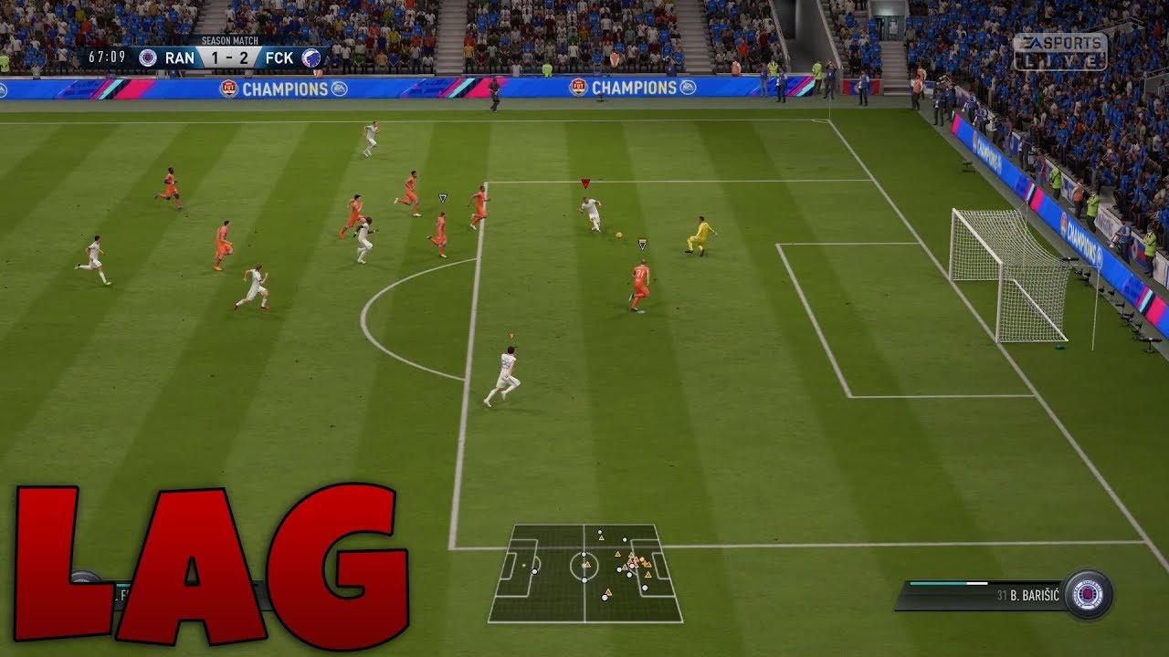 FIFA 19 lag