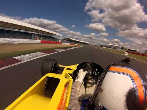Silverstone Classic 2014 Historic FIA Formula One Onboard - Ollie Hancock from Pole Position
