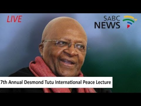 7th Annual Desmond Tutu International Peace Lecture by Adv. Gounden
