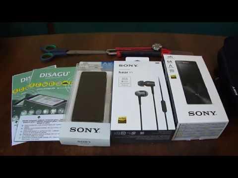 Плеер Sony NWZ A17 + комплект