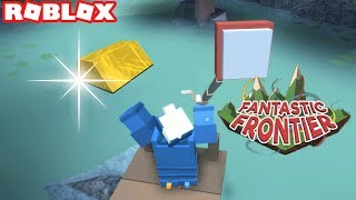 Roblox Fantastic Frontier Beta / FISHING FOR GOLD / Episode #3 (Fantastic Frontier Beta)