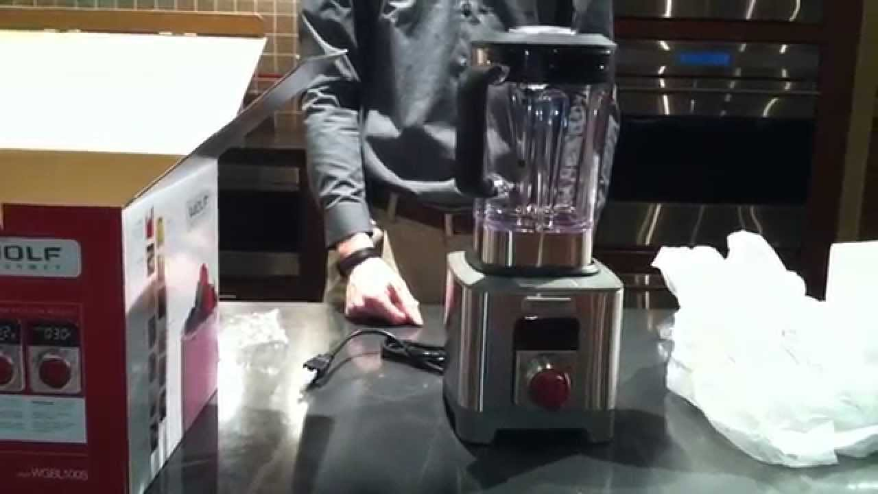 Mixers Mixers Vicking Vs Wolf ~ Wolf gourmet blender unboxing wgbl s youtube