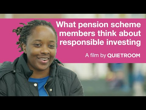 What pension scheme members think about responsible investing