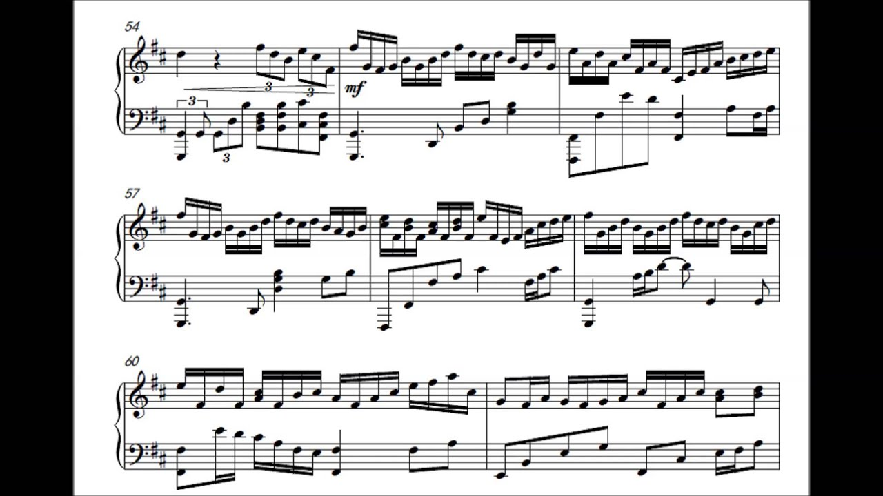 Temple Of Time (Piano) (Music