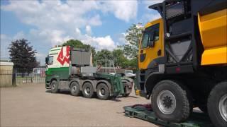 Sending a GINAF HD5395TS to Germany