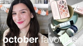 October Favorites | Clean, Green Beauty