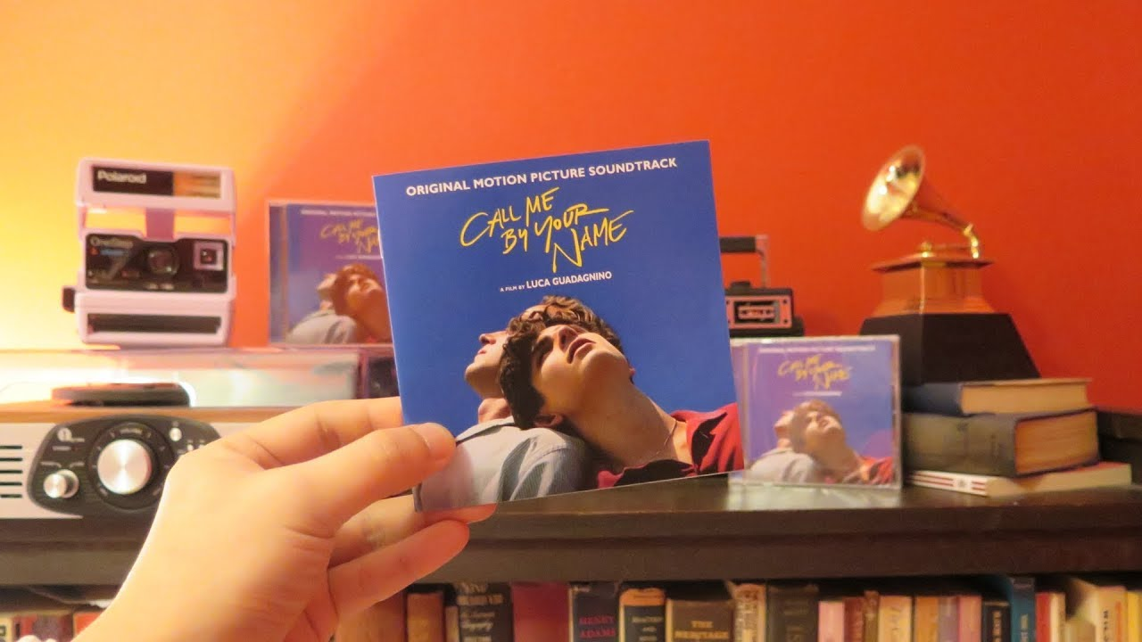Call Me By Your Name (Original Motion Picture Soundtrack) CD Unboxing