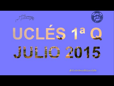 Vídeo despedida 1ªQ Uclés Julio 2015