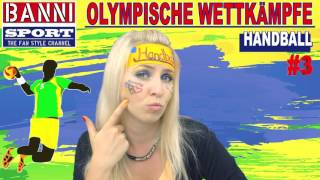 FACEBOOK Trailer Handball Balonmano - Olympic Wettkampf - Banni Sport Fan Style & Make-up
