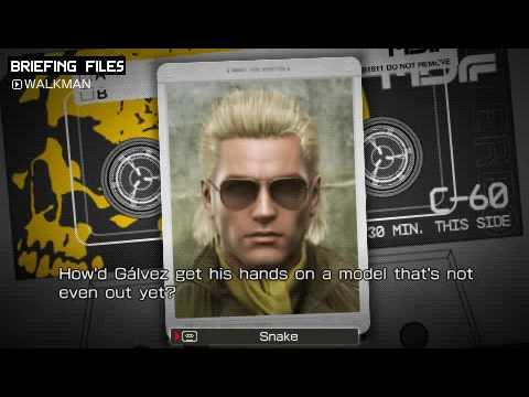 Metal Gear Solid: Peace Walker - Walkman