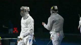 Beijing 2008 Olympics - L16 - Tarantino ITA v Sanson FRA