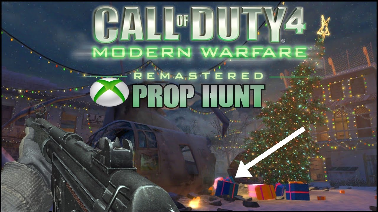 COD 4 Remastered - PROP HUNT XBOX ONE