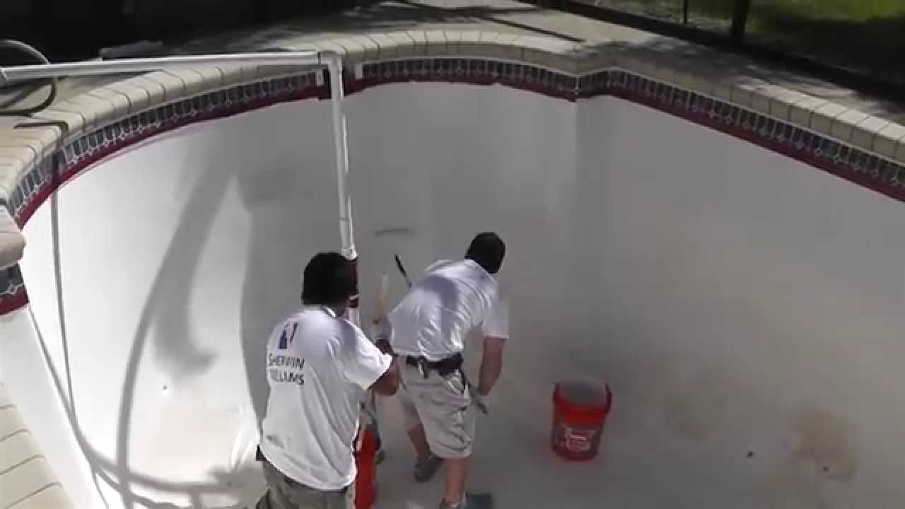 How to repair and refinish a fiberglass pool with Aquaguard 5000 ...