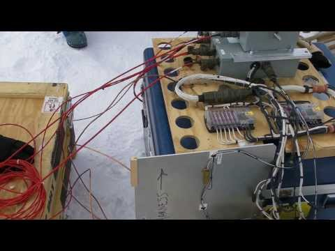 Antarctic trip 2012-2013: SouthPole Station sys6 Test ON