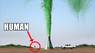 World's Tallest Elephant Toothpaste Volcano (I FINALLY DID IT!!)
