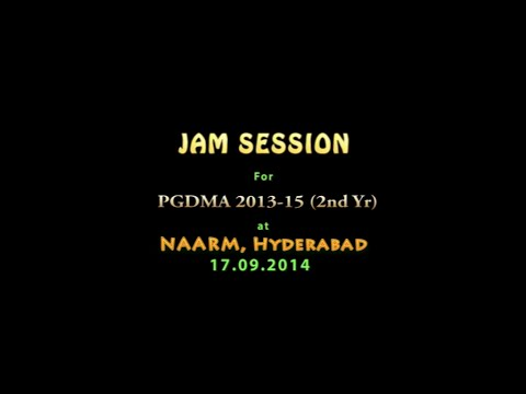 JAM Session Exercise at NAARM