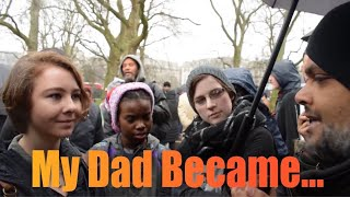 My Dad Became... Hashim & Girls from America | Old Is Gold | Speakers Corner | Hyde Park