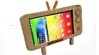 4 Awesome Phone Stand Out of Cardboard