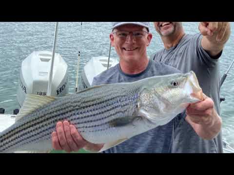 Lake Cumberland Striper Fishing. Striper King Guide Service. July 1, 2020
