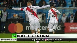 Perú gana 3-0 a Chile y pasa a la final de la Copa América