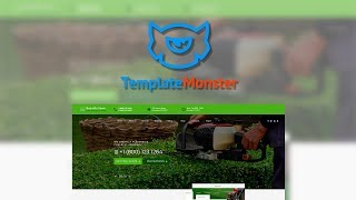 Beautiful Lawn Lawn Moving And Gardening HTML5 Template #70530