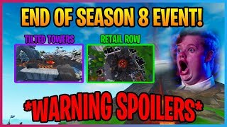 *LEAKED SEASON 9 EVENT* VIDEO AND INFO! (SPOILERS) Fortnite season 9
