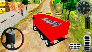Offroad Indian Truck Driver Simulator #3 - Mountain Heavy Cargo Truck Drive - Android GamePlay screenshot 4
