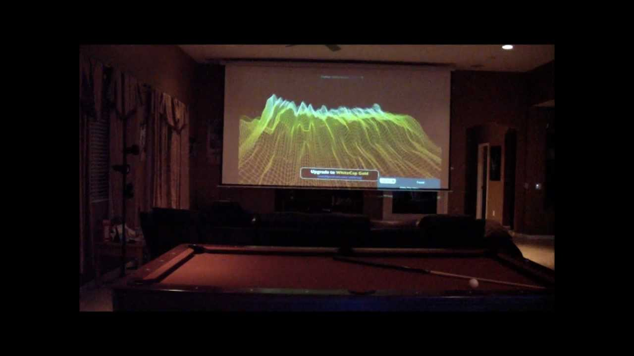 home theater 200 inch projection screen youtube