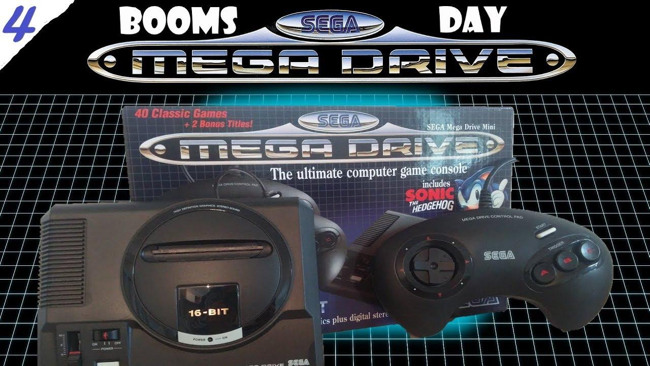 Review Sega Mega Drive Genesis Mini 4 All 42 Games Boomsday