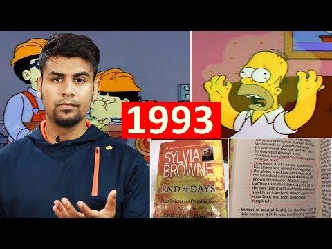 Simpson Is Illuminati ? 1993 Me He Pata Thha Virus Ka ? Internet Theories Explained