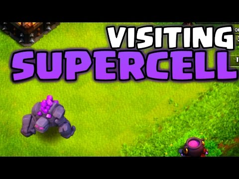 "Clash of Clans ""SUPERCELL HQ VISIT!"" New Update & Dev Team News Incoming!"