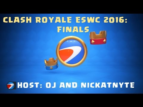 Clash Royale at ESWC Finals with OJ and NickatNyte in Paris (full video)