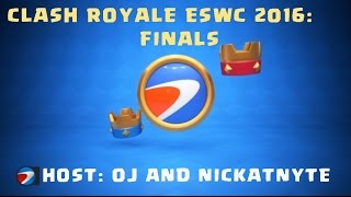 Clash Royale at ESWC Finals with OJ and NickatNyte in Paris (full video)(Winner's highlights: https://youtu.be/6Gn_dMG9PSo Group Stage Part 3: https://youtu.be/Is1JiEGkqbA Group Stage Part 2: https://youtu.be/ekLLWvgnu2A Group ..., 2016-10-30T15:47:07.000Z)