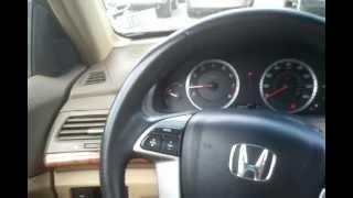 2008 Honda Accord EXL start up and drive