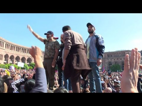 Armenia protest leader thanks his supporters after his release