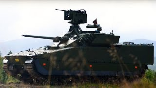 CV90 MK3 - Norway's new fighting vehicles