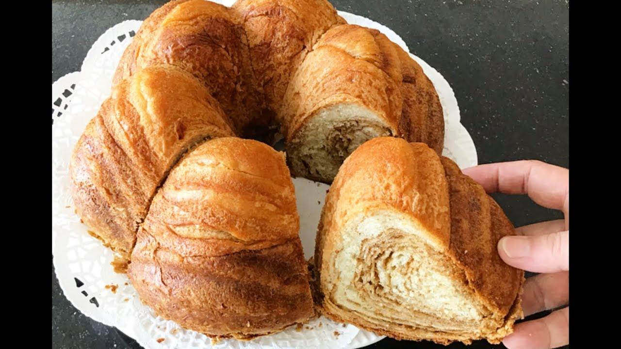 Kek Kalıbında Haşhaşlı Çörek( Süpriz Çörek)