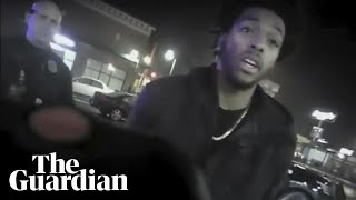 NBA player Sterling Brown stungun arrest: body-camera video released