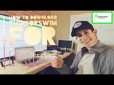 How To Download & Use TD Ameritrade ThinOrSwim Realtime Platorm For FREE | Tutorial