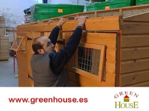 Cobertizo de madera terra youtube for Cobertizos de jardin baratos