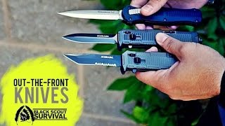 Out The Front Knives - Black Scout Reviews