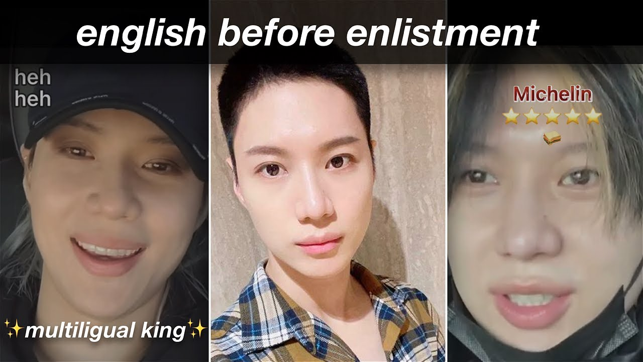 Taemin English Compilation to Get You Through Enlistment pt.2 (last 2021 livestreams)
