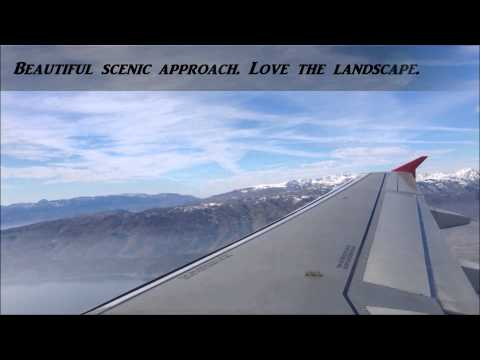 Austrian Airlines A320-200 Vienna-Ohrid *Full flight* Diversion from Skopje because of fog