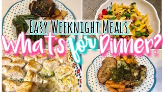 WHAT'S FOR DINNER? *QUICK + EASY* DINNER RECIPES FOR BUSY NIGHTS 2019 HOTTT MESS MOM